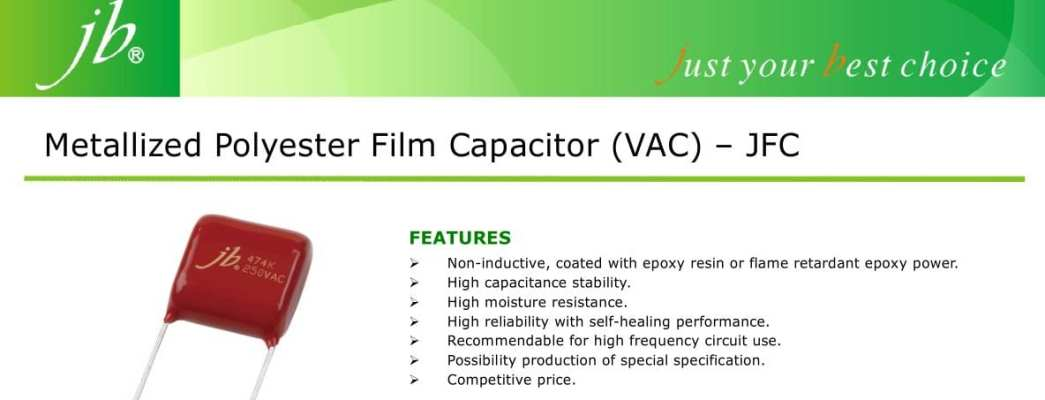 JB Capacitor Catalog Capture