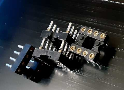 """ED90122-ND Mill-Max DIP8 """"Premium"""" sockets"""
