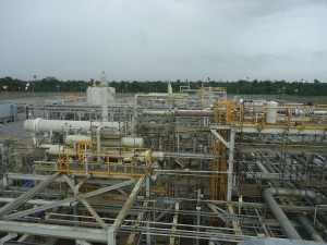 Frontier gas plant