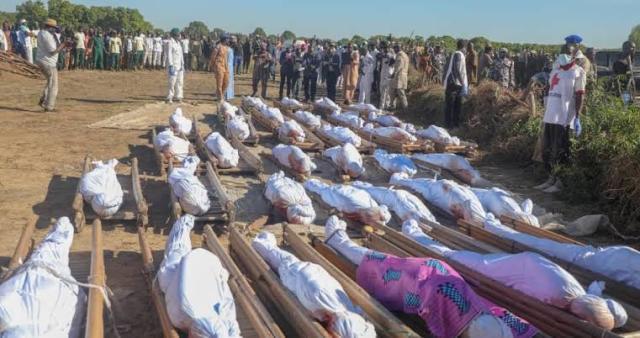 Remains of 43 farmers killed in Borno