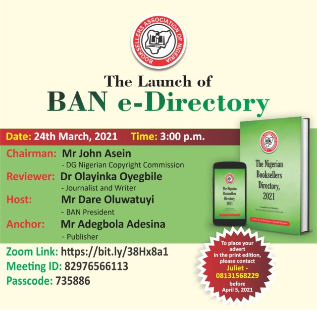 BAN e-directory launch