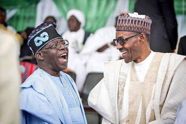 Bola Tinubu and President Muhammadu Buhari