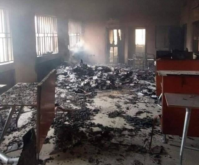 Federal High Court burnt in Ebonyi