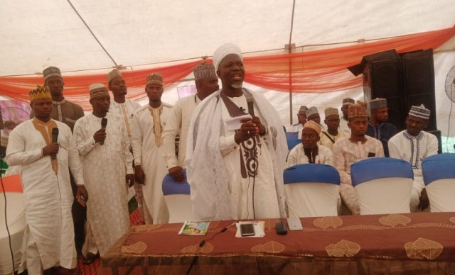 Sheikh Al Imam AbdulRasak Aduagba, Alhaji Ibraheem Tijani Adekilekun, others during the lecture