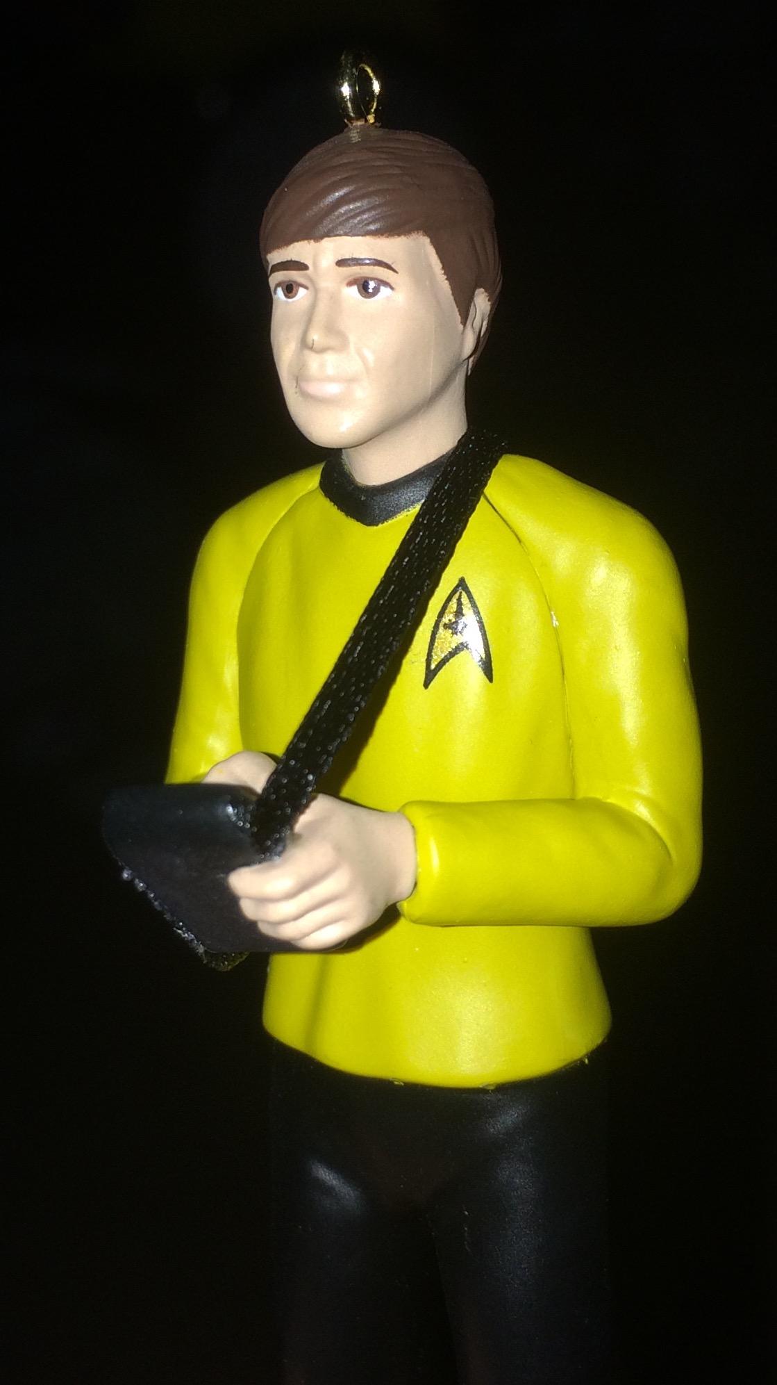Chekov Hallmark Star Trek Ornaments