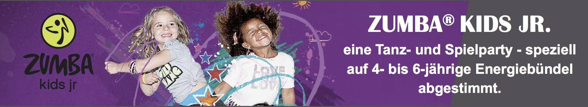 Zumba Kids Jr. Tanzkurs für Kinder zum Austoben und Tanzen lernen