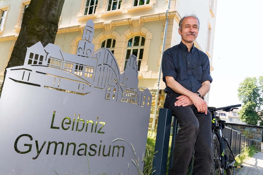 Seit rund einem Jahr leitet Michael Scharnowski das Buersche Leibniz-Gymnasium. Ein Jahr, in dem Corona seinen Arbeitsalltag bestimmt.