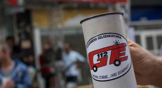 Die Feuerwehr Gelsenkirchen führt am Samstag eine 24-Stunden-Spendenaktion in Buer durch. Der Erlös geht an einen guten Zweck.