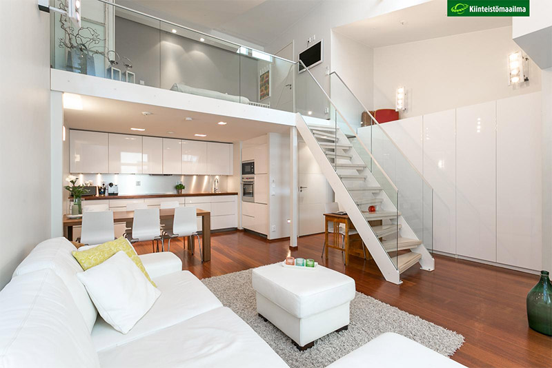 Compact Apartment With A Loft