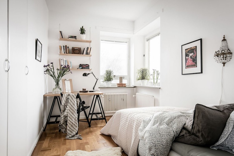 Modern Vintage Interior Design In Swedish Apartment