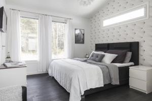 bedroom 3d interior scandinavian decor wall master leather bold effects buttons covered almost makes