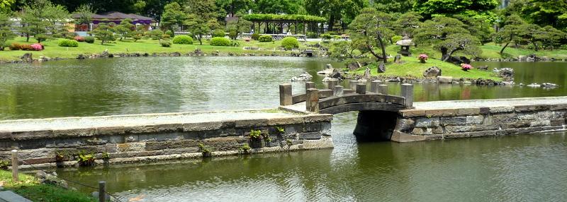 Kyu-shiba-rikyu gardens