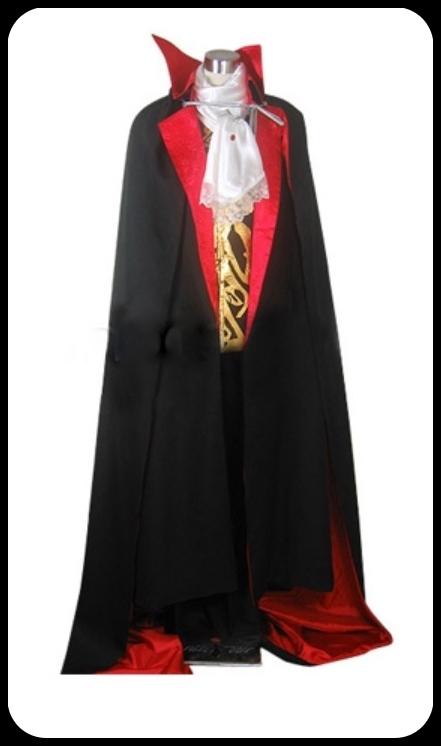 Castlevania Vampire Dracula Costume