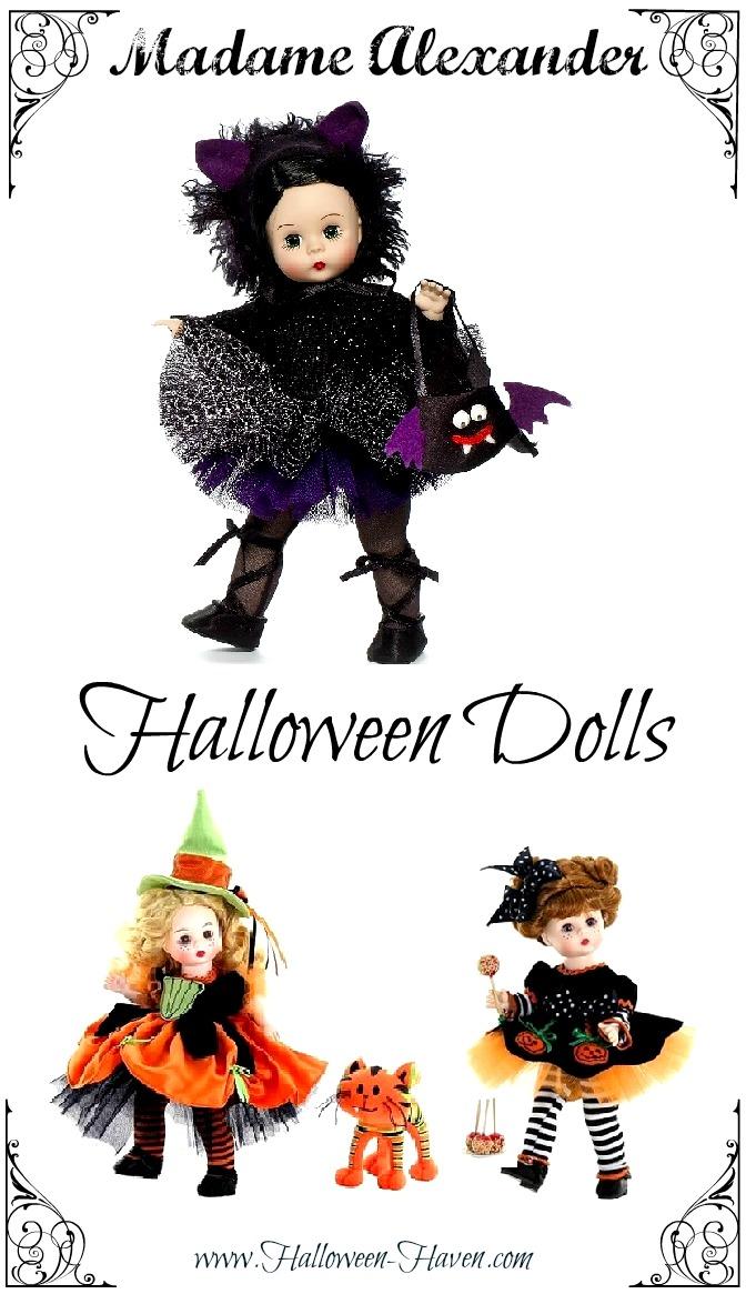 Halloween Dolls Madame Alexander Collection