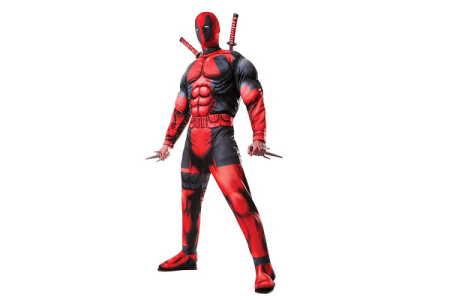 Deadpool Costume for Adults