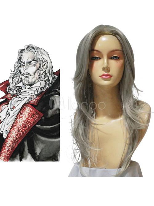 Castlevania Vampire Dracula Cosplay Wig