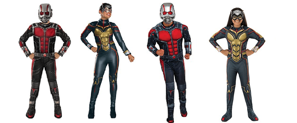 Ant-Man and The Wasp Costumes for Halloween