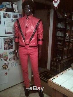 Michael Jackson Thriller Zombie Life Size Mannequin Halloween Prop Zombie Prop