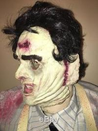 Rare! Gemmy Life Size Animated Leatherface / Texas
