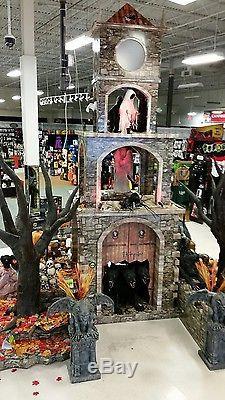Spirit Halloween Gargoyle Stand 4 Feet Tall Home Decor