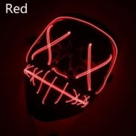 halloween mask red