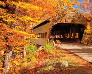 Albany, NH Covered Bridge by Brian Jansen
