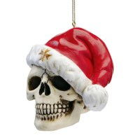 Cool Find: Skelly Claus Holiday Skeleton Ornament