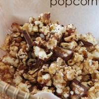 How To Make Snickers Popcorn