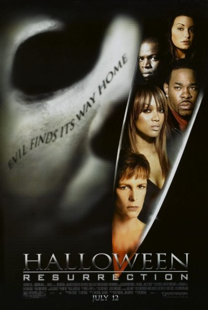 Halloween Resurrection poster - July 12, 2002