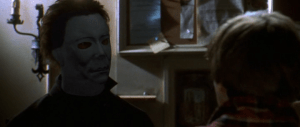 Chris Durand as Michael Myers in 'Halloween H20: Twenty Years Later'.