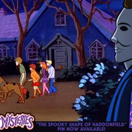 Michael Myers Scooby-Doo 'Lost Mysteries' art by ibTrav Illustrations - 01