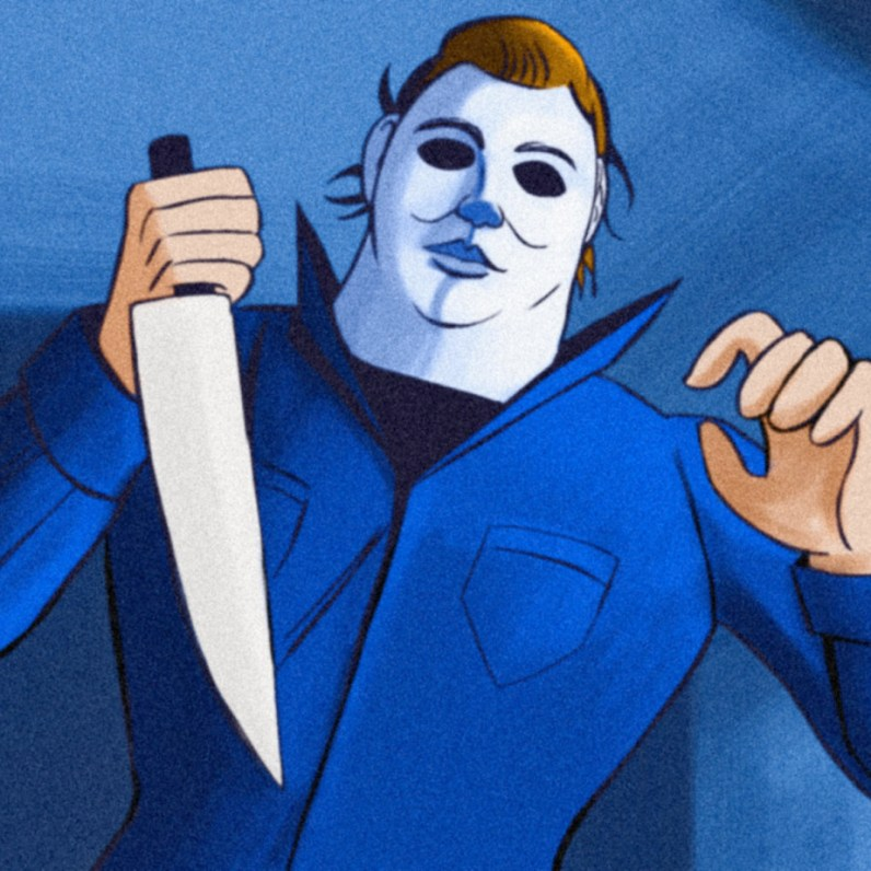 Michael Myers Scooby-Doo 'Lost Mysteries' art by ibTrav Illustrations