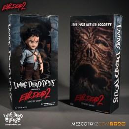 Ash Evil Dead 2 - Living Dead Dolls - Package
