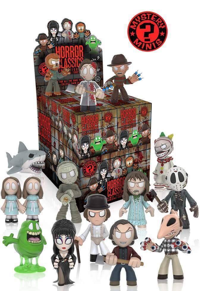 Funko Mystery Minis Horror Series 3