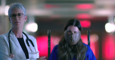 Jamie Lee Curtis and Lea Michele pay homage to Hannibal Lecter in 'Scream Queens' Season 2 promo