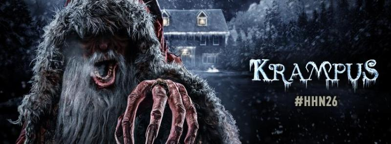 Krampus at Halloween Horror Nights 2016 in Orlando and Hollywood