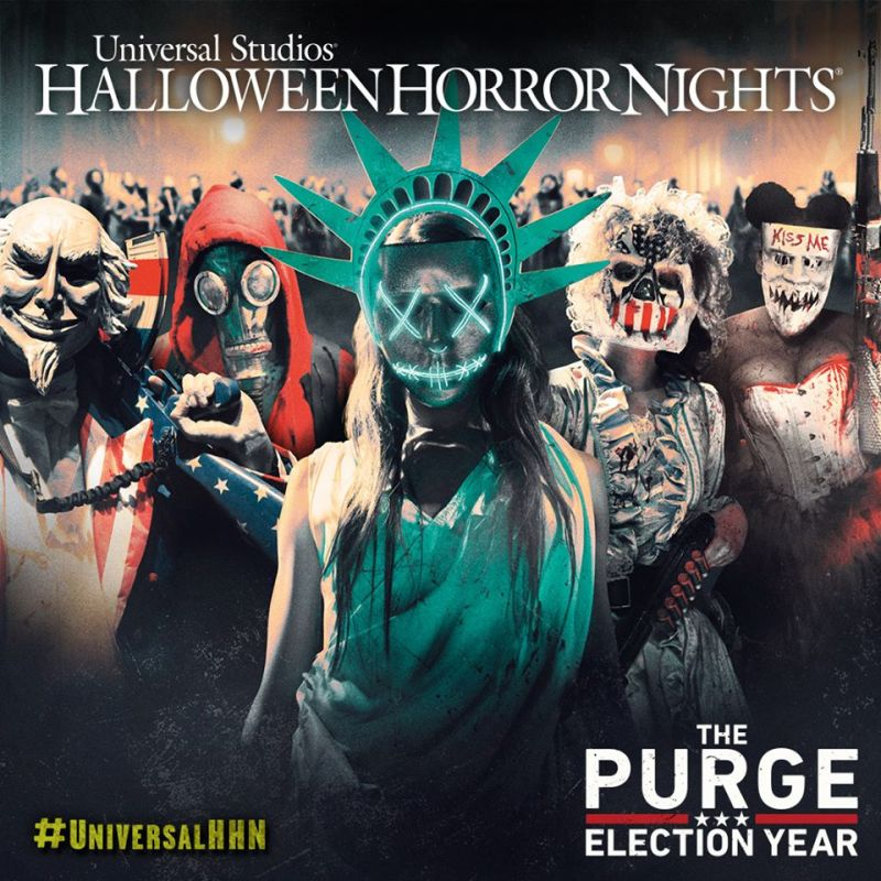 The Purge at Universal Halloween Horror Nights Hollywood
