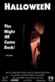'Halloween: The Night He Came Back' fan film official poster