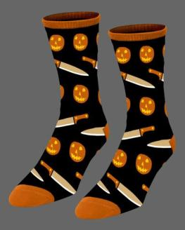 halloween-jack-o-lantern-socks-art-by-joe-guy-allard
