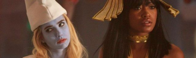Emma Roberts and Keke Palmer star in Scream Queens.
