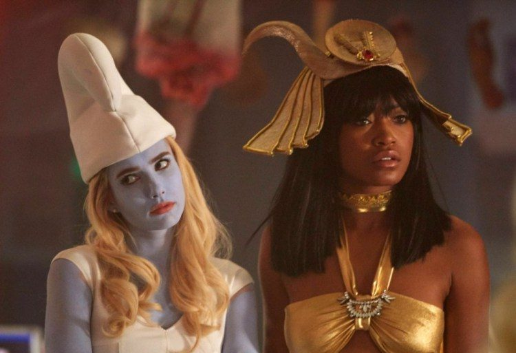 Emma Roberts and Keke Palmer star in Scream Queens.