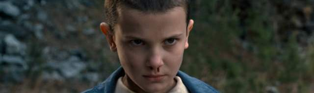 Millie Bobby Brown is Eleven in 'Stranger Things'.