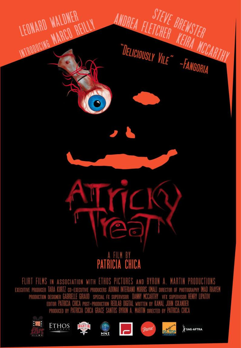 A Tricky Treat - poster