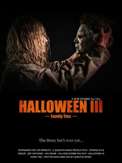 'Halloween III: Family Ties' fan film promo art