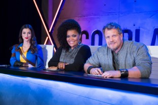 LeeAnna Vamp, Yvette Nicole Brown and Christian Beckman star on 'Cosplay Melee'.