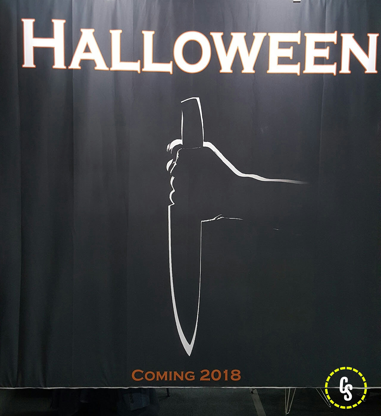 'Halloween' 2018 promo art. (photo courtesy of ComingSoon.net)