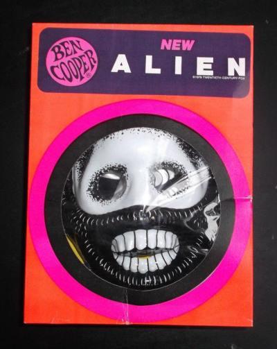 The 1979 'Alien' costume by Ben Cooper.