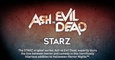 'Ash vs Evil Dead' is coming to Universal Halloween Horror Nights 2017.