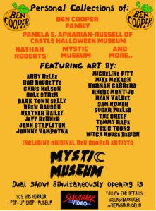 Ben Cooper art show at Mystic Museum