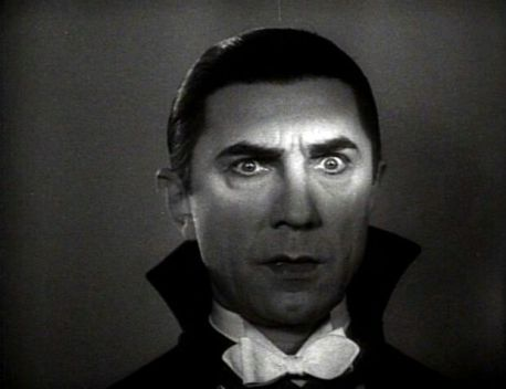 Bela Lugosi as Dracula.